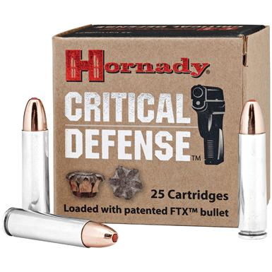 Hornady® Critical Defense™ .30 Carbine 110 Grain FTX™ Ammo, 25 rounds