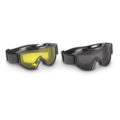 Overtop Riding Goggles, 2 Pack, Yellow (155
