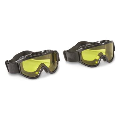 Overtop Riding Goggles, 2 Pack, Yellow