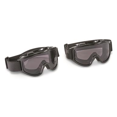 Overtop Riding Goggles, 2 Pack, Smoke