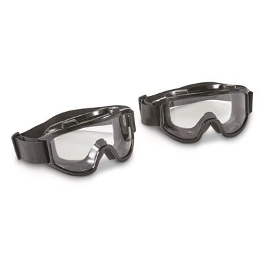 Overtop Riding Goggles, 2 Pack, Clear