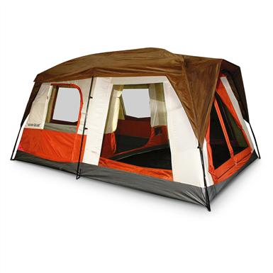 Guide Gear® Pioneer 14x10' Vacation Home; With Rainfly