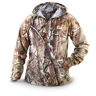 Gamehide Elimitick Cover-Up Jacket, Realtree Xtra