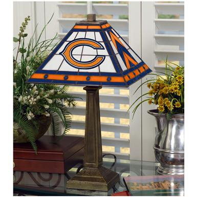 NFL Mission-style Table Lamp, Bears