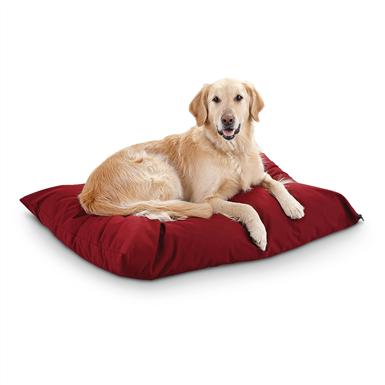 "Premium Value 30x40"" Dog Bed, Burgundy"