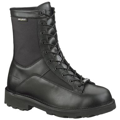 "Men's Bates 8"" DuraShocks Gore-Tex Lace-To-Toe Boots, Black"