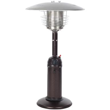 Table Top Patio Heater, Hammer Tone Bronze