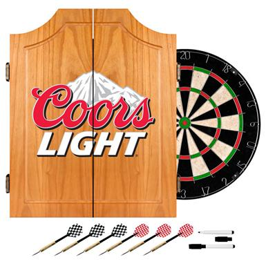 Coors Light® Dart Cabinet with Darts