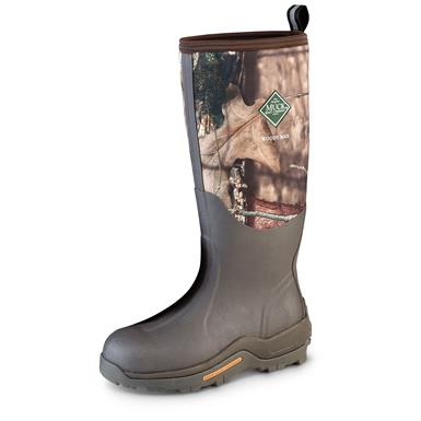 Men's Muck Boot Company Woody Max Waterproof Rubber Hunting Boots, Mossy Oak Break-Up® Country