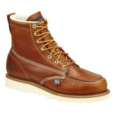 "Men's Thorogood® 6"" Moc Toe Steel Toe Work Boots"