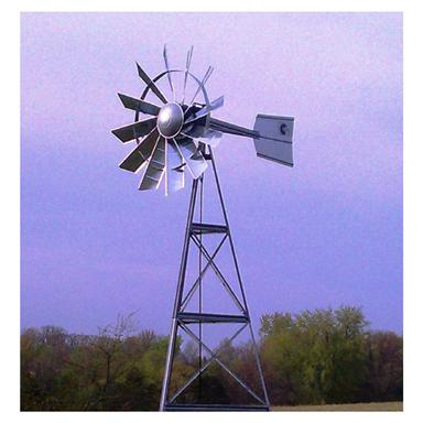 Windmill manufactured in the USA from high-quality 18-gauge galvanized steel