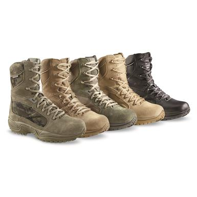 Reebok Men's ERT Tactical Boots, Waterproof • FROM Left to Right: Sage/Digi Camo, Coyote, Sage, Desert or Black