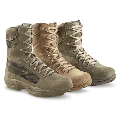 Reebok Men's ERT Waterproof Tactical Boots • FROM Left to Right: Sage/Digi Camo, Coyote, Sage, Desert or Black, Black (327