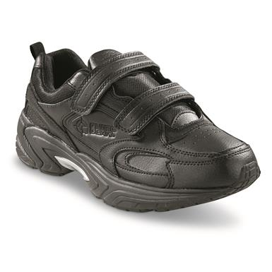 Guide Gear Men's Hook-and-Loop Walking Shoes, Black