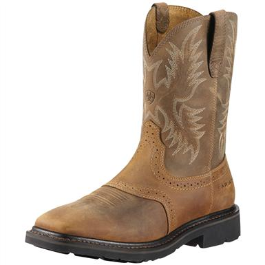 Men's Ariat® 10 inch Sierra Wide Square Steel Toe Cowboy Boots
