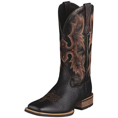 Men's Ariat® 13 inch Tombstone Cowboy Boots, Black