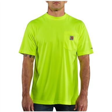 Men's Carhartt® Force™ High-visibility T-shirt, Brite Lime
