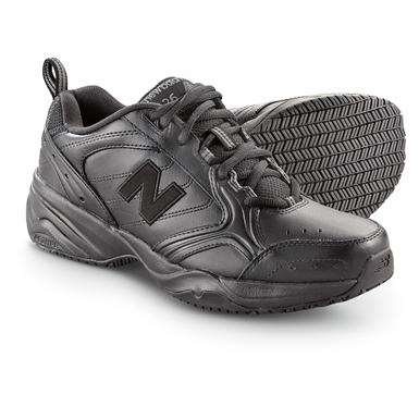 New Balance Men's 626 Slip Resistant Shoes, Black