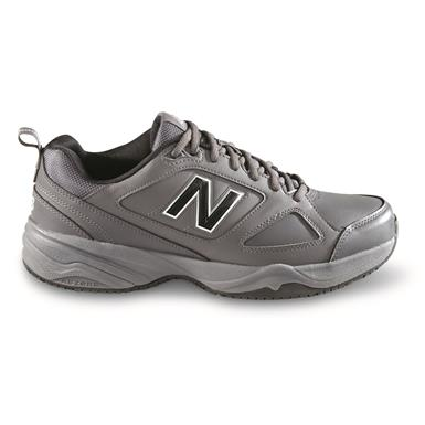 New Balance Men's 626 Slip-Resistant Shoes, Gray