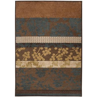 7 foot 6 inch x 10 foot 6 inch Surya™ Brazil Coffee & Tea Rug