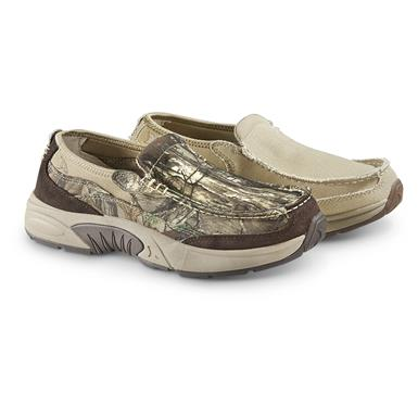 Rugged Shark Men's Annapolis 3 Slip-On Boat Shoes