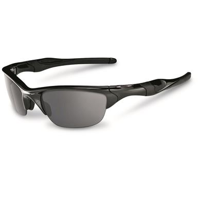 Oakley Half Jacket 2.0 Sunglasses, Black / Black Iridium