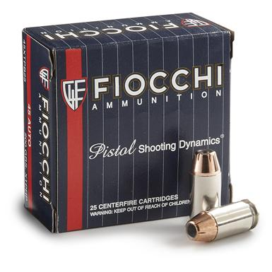 Fiocchi Extrema, 9mm, XTP HP, 147 Grain, 25 Rounds