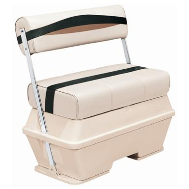 Wise® Premier Cooler Flip-Flop Pontoon Seat, Color B - Platinum Punch / Jade / Fawn