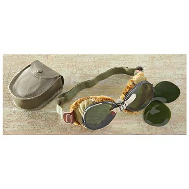 Used U.S. Military Surplus WWII Foster Grant® Goggles
