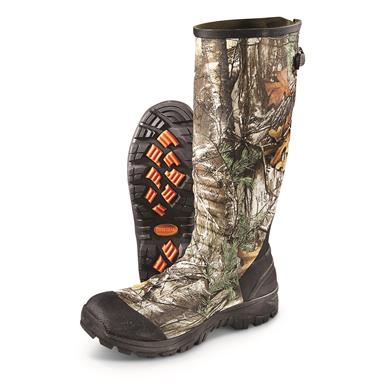 Guide Gear Men's Ankle Fit Insulated Rubber Boots, 800 Gram, Realtree Xtra