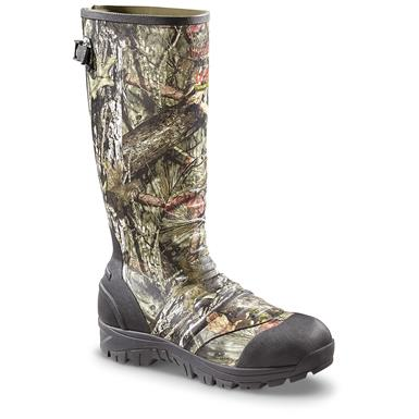 "Guide Gear Men's 17"" Insulated Rubber Boots, 1,600 Grams, Realtree Xtra, Realtree Xtra®"