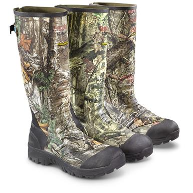 Guide Gear Men's Ankle Fit Insulated Rubber Boots, 1,600 Gram • From Left to Right: Realtree Xtra / Mossy Oak Break-Up Infinity / Mossy Oak Break-Up Country, Realtree Xtra®  (1FP