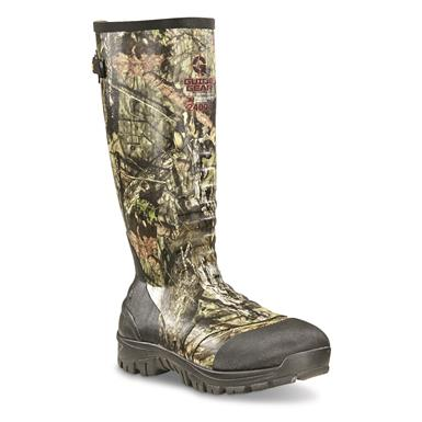 Guide Gear Men's Ankle Fit Insulated Rubber Boots, 2,400 gram, Mossy Oak Break-Up® COUNTRY™
