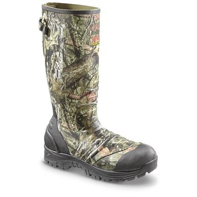 Guide Gear 2,400-gram Ankle Fit Rubber Boots, Mossy Oak Break-Up Country, Mossy Oak Break-Up® COUNTRY™