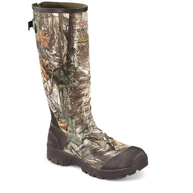 Guide Gear 2,400-gram Ankle Fit Rubber Boots, Realtree Xtra, Realtree Xtra®