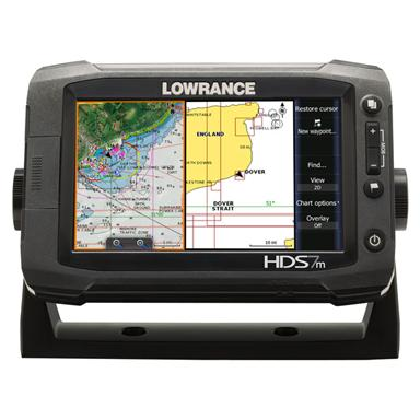 Lowrance® HDS-7m Gen 2 Touchscreen GPS Chartplotter with Insight USA™ Maps