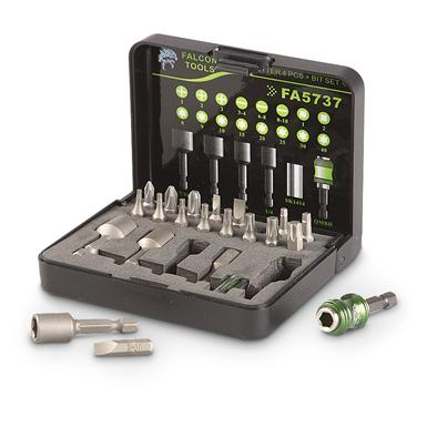 22-Pc. Falcon Tools™ Magnetic Nutsetter and Bit Set
