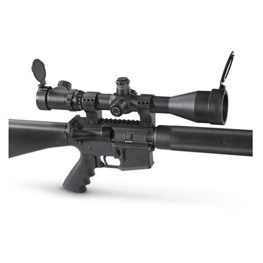 Sightmark® 6-25x56mm Mil-dot Rifle Scope, Matte Black • 35mm scope tube for HUGE light gathering ability