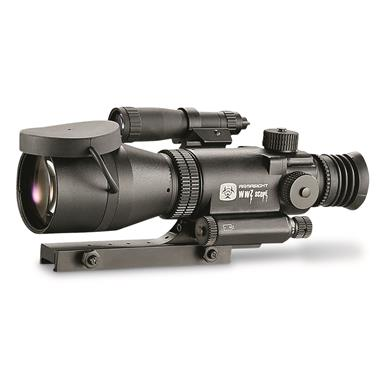 Armasight Night Vision 4X Gen 1+ Long Range Rifle Scope, Matte Black