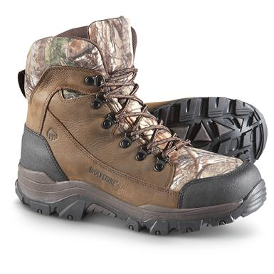 Men's Wolverine® Sharpshooter 600 gram Thinsulate™ Insulated Waterproof Boots, Realtree® Xtra