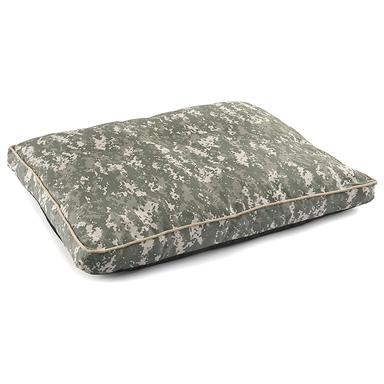 Military-style U.S. Army Dog Bed, Woodland Camo