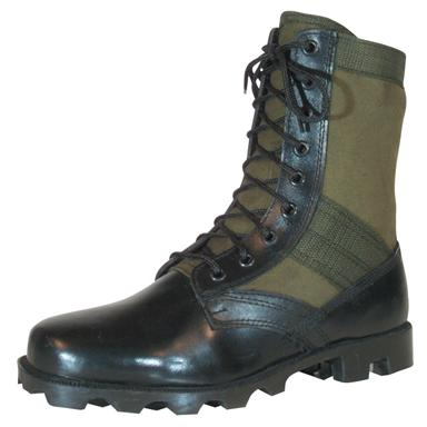 Men's Fox Tactical™ Vietnam Jungle Boots, Olive Drab
