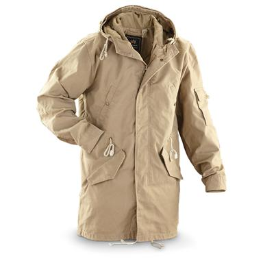 Knox Armory® by Alpha Industries® Military-style Duster Jacket, Khaki