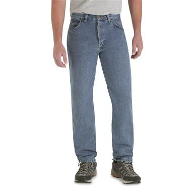 Men's Wrangler® Rugged Wear® Classic Fit Jeans, Stonewash
