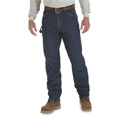 Wrangler® RIGGS Workwear® Men's FR Flame Resistant Carpenter Jeans, Denim
