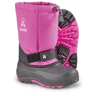 Kamik Kids' Rocket Winter Boots, Vivid Violet