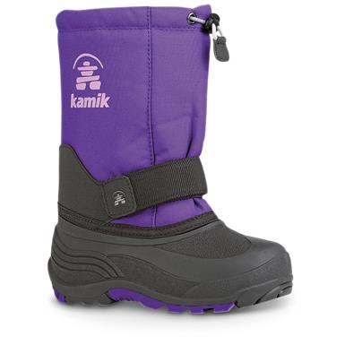 Kamik Kids' Rocket Winter Boots, Purple