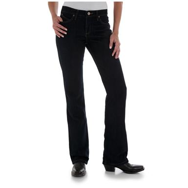 Women's Wrangler® Cowgirl Cut® Ultimate Riding® Jeans, Q-Baby™ Fit, Dark Dynasty