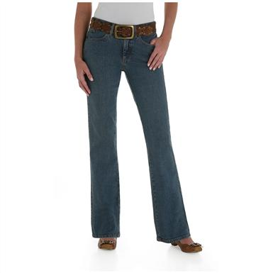 Women's Aura from the Women at Wrangler® Instantly Slimming Jeans, Tinted Mid-Stone