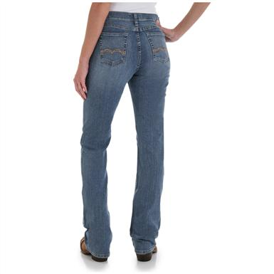 Women's As Real as Wrangler® Misses Classic Fit Jeans, Whispering River - Back View